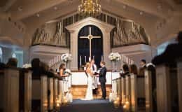 Saying I Do at the Altar