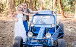 Bride and Groom Buggy