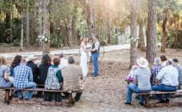 Country Chic Ceremony