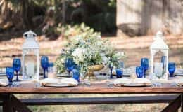 Country chic table