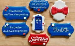 Dr. Who Inspired Cookies
