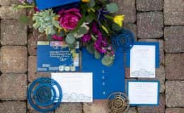 Dr. Who Inspired Wedding Invitation